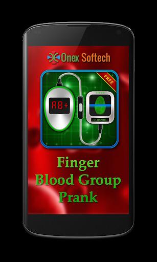 手指血型惡作劇