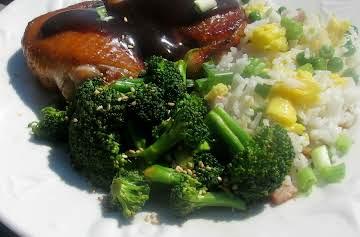 Broccoli with Sesame Sauce