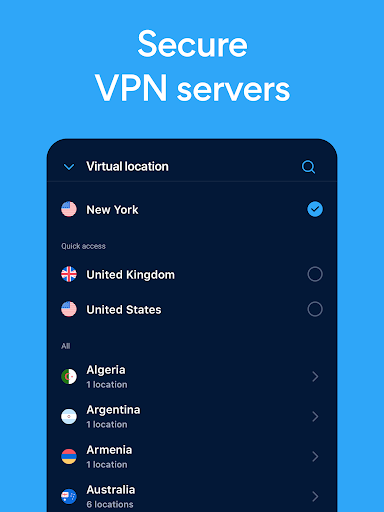 Hotspot Shield Free VPN Proxy & Secure VPN 8.0.1 screenshots 8