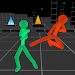 Stickman Fighting: Neon Warriors icon