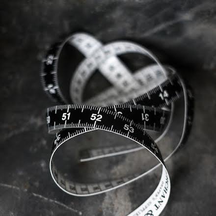Måttband - cm & tum