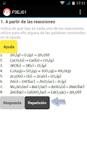 REACCIONES QUIMICAS 3º ESO- screenshot thumbnail