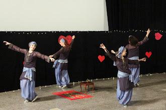 Photo: Ramza (kor. A. Toivonen, tanssijat: M. Koskinen, A. Saarikoski, M. Rajala, K. Heiskanen)