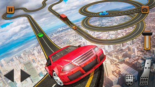 Impossible Tracks Car Mountain Climb Stunts Racing screenshot 1