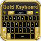 Luxurious Gold Keyboard icon