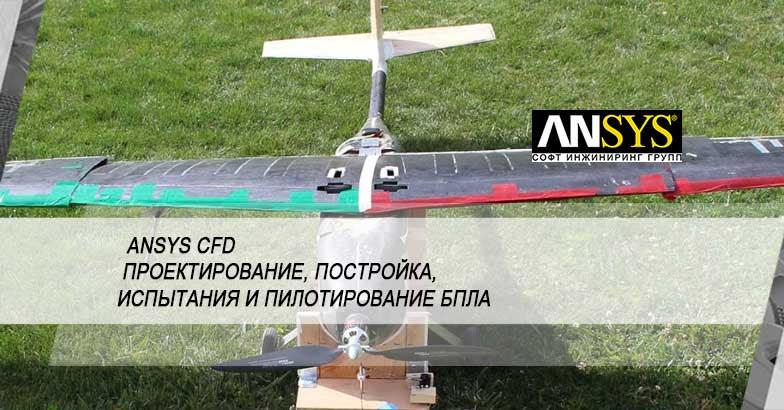 Создание беспилотного летательного аппарата Triton UAS с помощью продуктов ANSYS