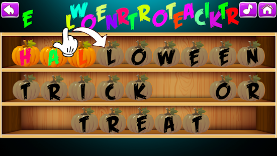 Pretend Halloween Play & Learning Game for Kids - Android Apps on ...