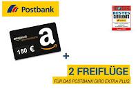 """Angebot für Postbank """"Giro extra plus"""" im Supermarkt"""