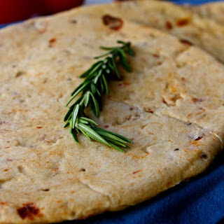 Sun-Dried Tomato Pita Bread.