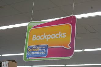 Photo: I see this and the Dora the Explorer song comes into my head. Backpack backpack..