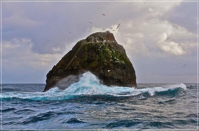 Rockall, o rochedo desejado por quatro nações