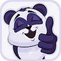 New Cute Little Panda Stickers for WAStickerApps icon