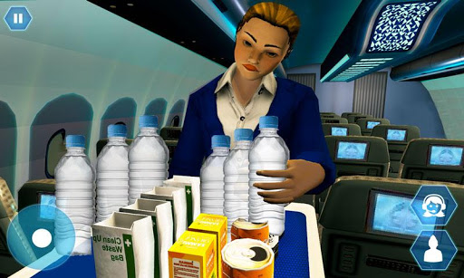 Airport Staff Flight Attendant Air Hostess Games 1.4 screenshots 2