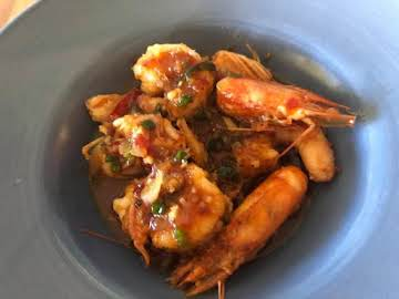 Vietnamese Caramelized Lemongrass Shrimp