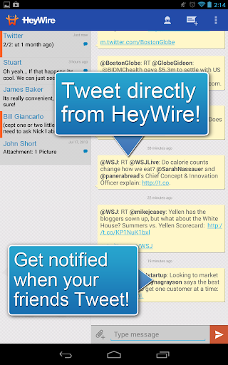 GoHeyWire Text FREE Texting screenshot 6