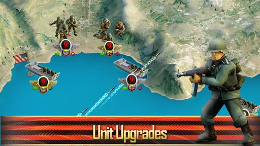 Frontline: Western Front - WW2 Strategy War Game screenshots 11