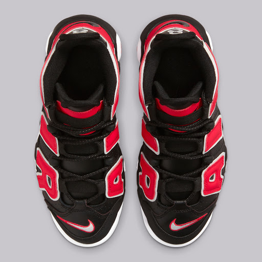 """The Nike Air More Uptempo Rearranges The """"Hoop Pack"""" Colorway"""
