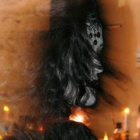 Halloween ;la dama nera di