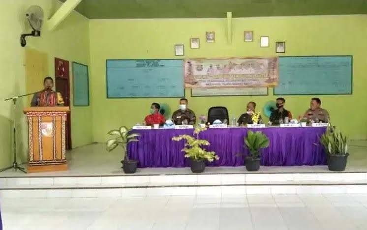 Jadi Kampung Tangguh Nusantara di Tiyuh Mercu Buana, Way Kenanga Tulang Bawang Barat