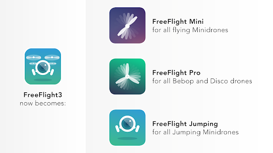 FreeFlight Jumping: miniatura de captura de pantalla