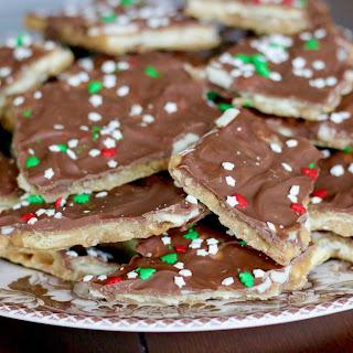 Christmas Crack (Cracker Toffee).