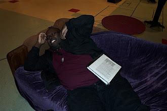Photo: Ben lounging.