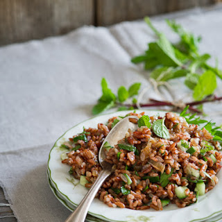 Red Rice & Mint w/ Soy Dressing