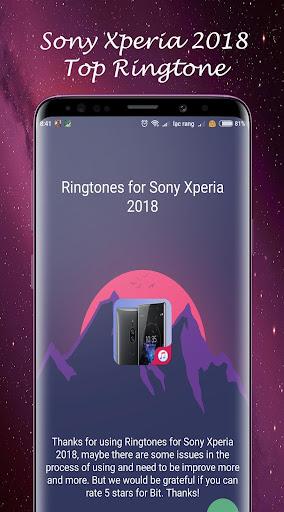 sony xperia new ringtone 2018