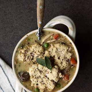 Turkey Pot Pie Soup.