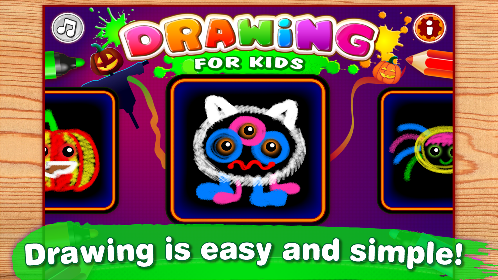 drawing for kids and toddlers painting apps screenshot