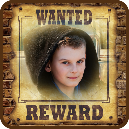 Wanted Poster Photo Frames Maker Icon