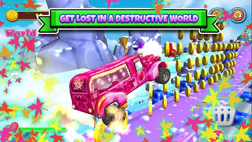 Free Santa Claus Truck Rider