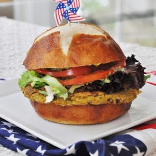 Chickpea and Veggie Burgers