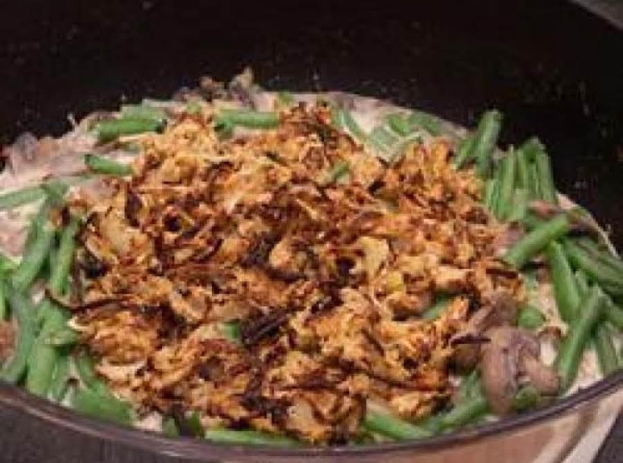 Scratch Green Bean Casserole Recipe Just A Pinch Recipes