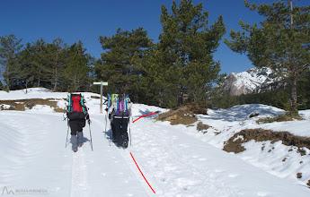 Photo: Portell dels Terres, nosotros hacia la derecha aun por el GR 107