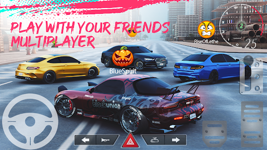 Real Car Parking 2 : Driving School 2020 Mod Apk Download For Android and Iphone 2
