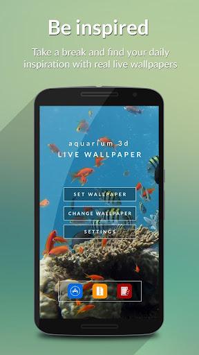 Aquarium 3D Video Wallpaper
