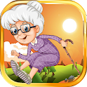Бабушка прыжок icon