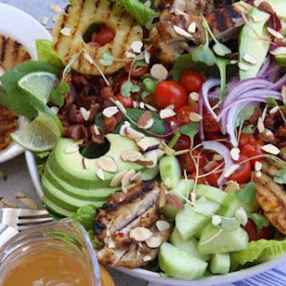 Grilled Pineapple Sesame Chicken Salad