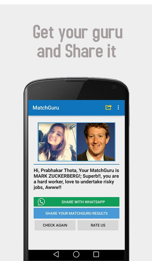MatchGuru | find your Guru- screenshot