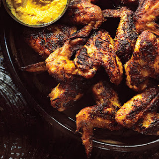 Grilled Turmeric and Lemongrass Chicken Wings.