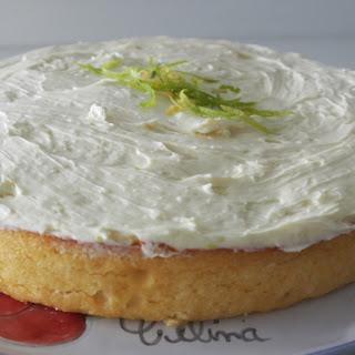 Low Carb Lemon Cake.