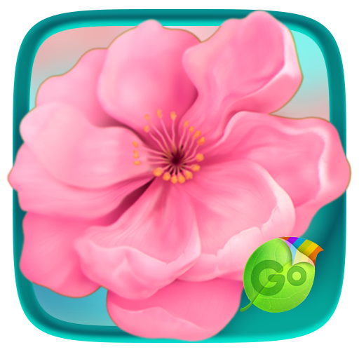 Flower Blossom Keyboard Theme 個人化 App LOGO-硬是要APP