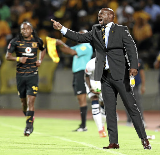 Not Komphel-ling: Steve Komphela has guided Kaizer Chiefs from a championship side to a mediocre outfit in his three years at the club. Picture: BACKPAGEPIX