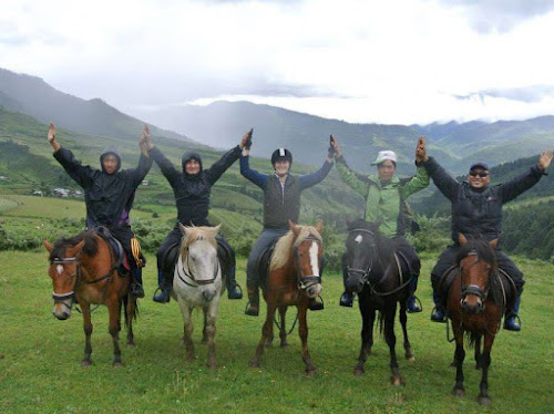 Horse Riding in Bhutan | Krys Kolumbus Travel
