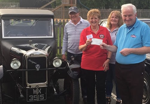 Car Club support for 1940s Weekend