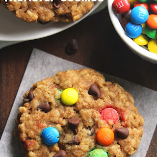 Healthy Classic Monster Cookies.