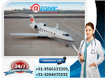 Outstanding Transportation by Charter Air Ambulance Service in Varanasi
