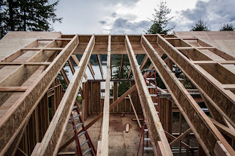 Photo: 4-12 shed dormer.  Lookouts every 4' (2x6)