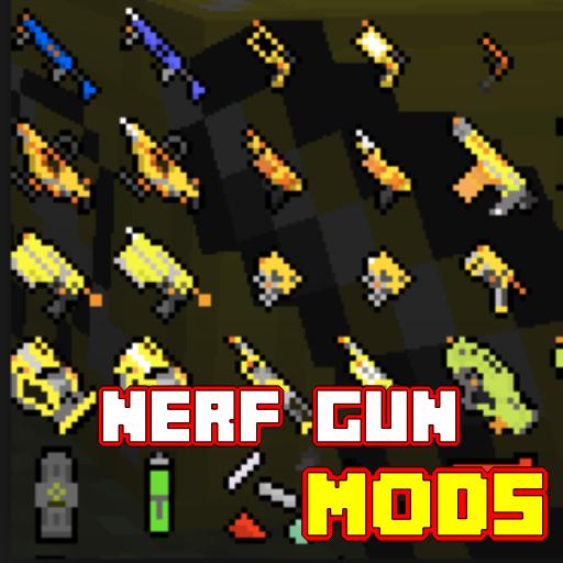 Nerf Gun Mod MCPE